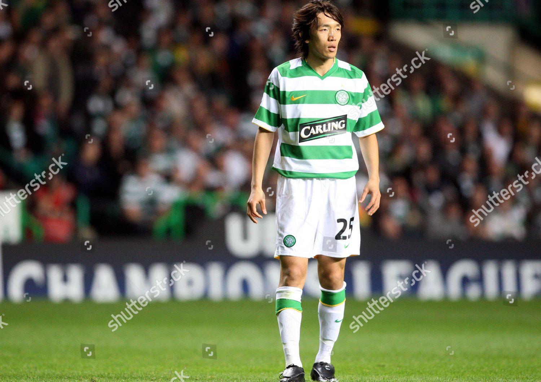 new arrival ab6d5 1fe3c Shunsuke Nakamura Celtics Shunsuke Nakamura seen during ...