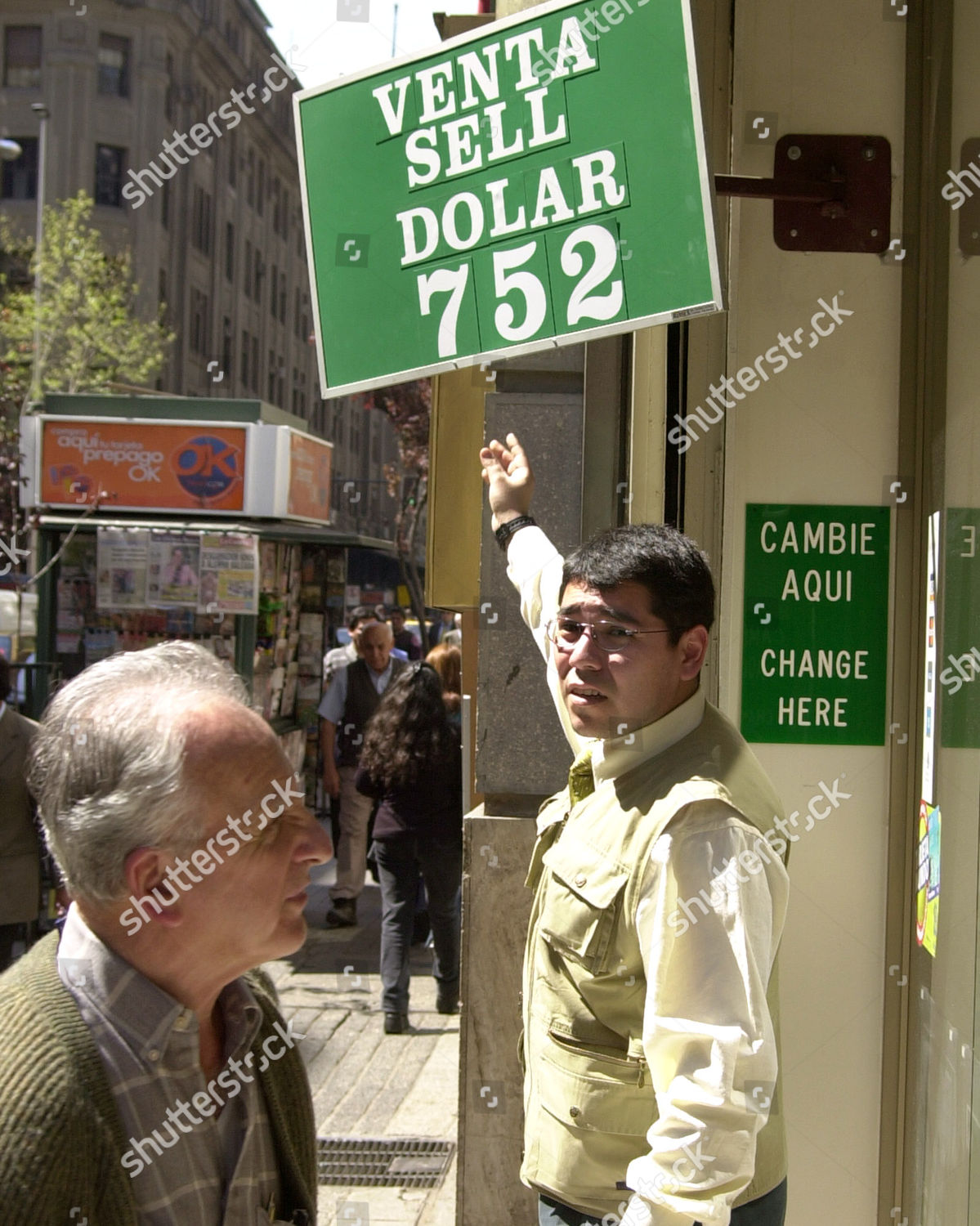 Currency Exchange Ignacio Last Name Not Available Editorial Stock Photo Stock Image Shutterstock