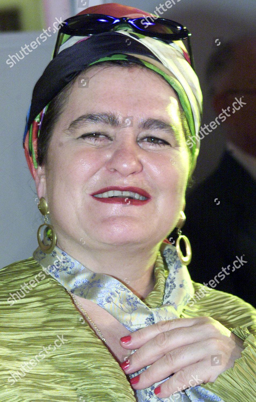 Elvira Bach German Artist Elvira Bach During Editorial Stock Photo