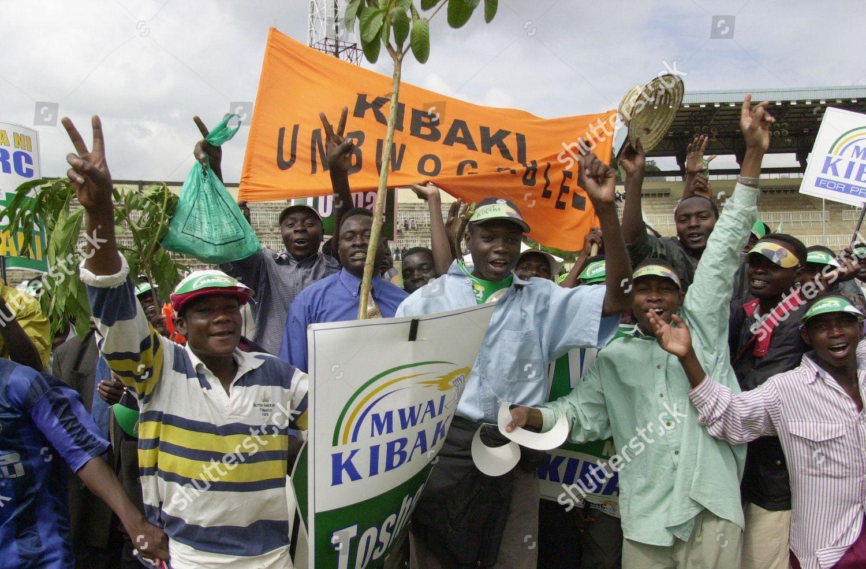 UNBOWGABLE Taken Nairobi Kenya Kibaki leading opposition