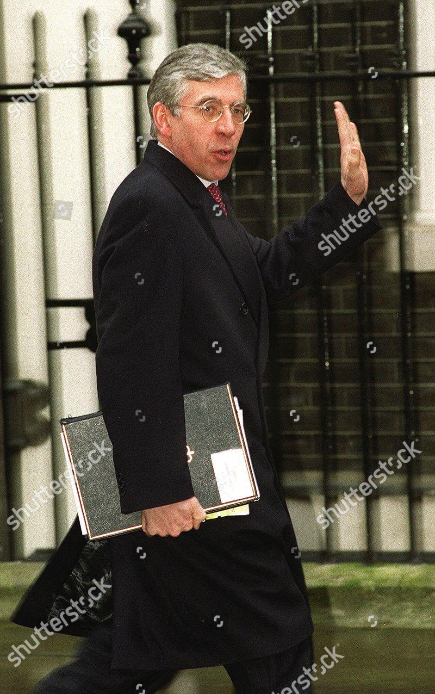 British Home Secretary Jack Straw Arrives Downing Editorial Stock Photo Stock Image Shutterstock