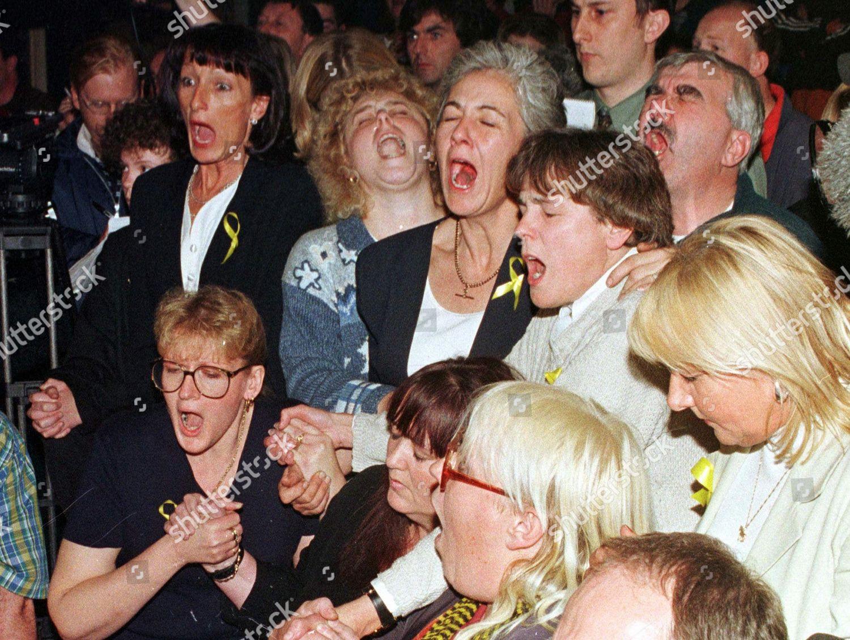 Louise Woodward Friends Members British Au Pair Editorial Stock