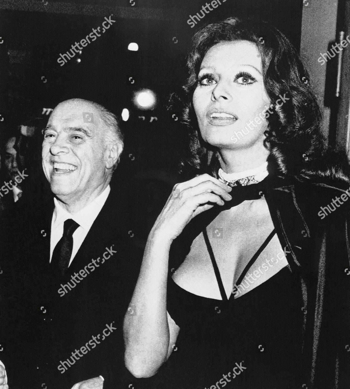 Sophia Loren Carlo Ponti Recent stock picture Editorial Stock ...