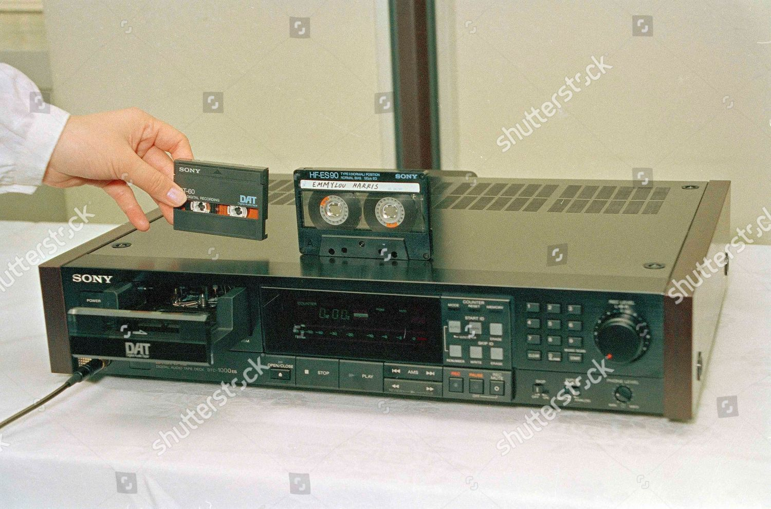 conventional audio cassette tape right compared Digital