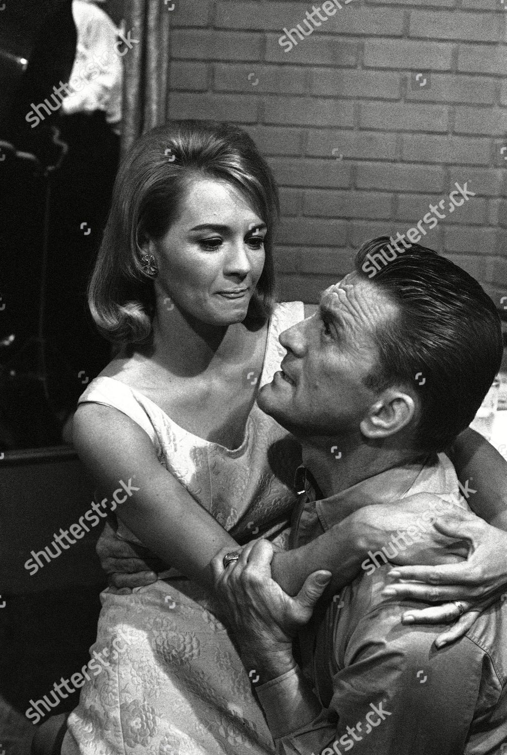 Angie Dickinson Oops hollywood actor kirk douglas actress angie dickinson
