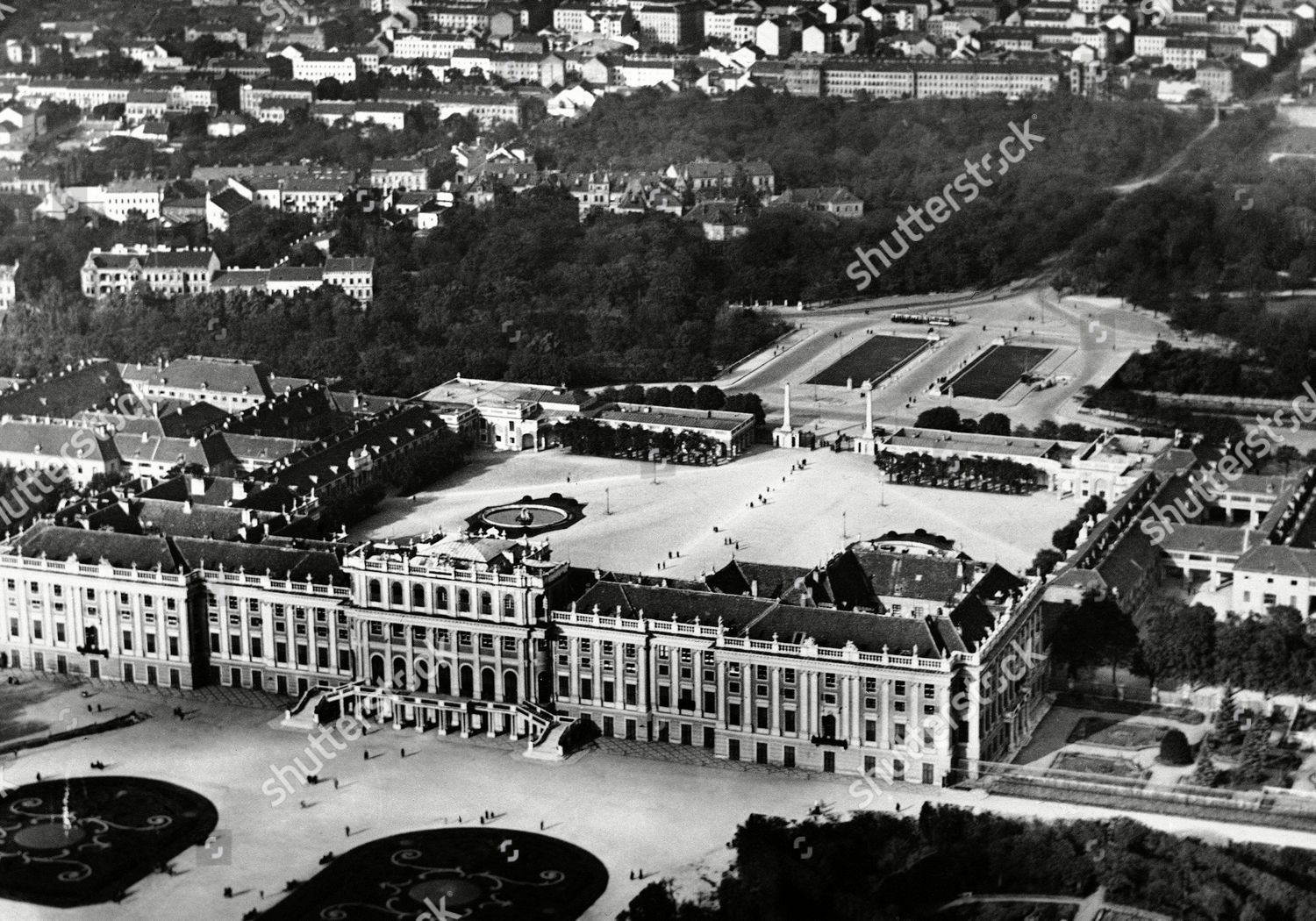 Stock photo of Austria Vienna Schoenbrunn Palace, Vienna, Austria