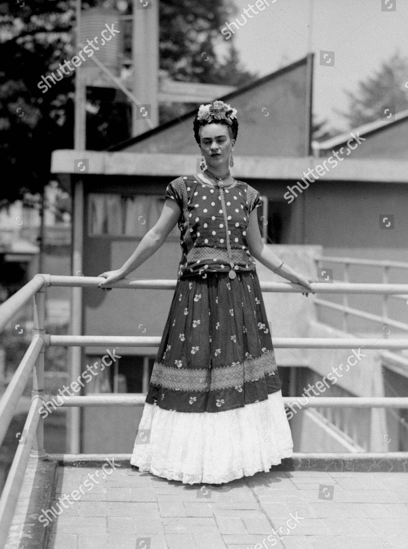 Stock photo of Mexico Frida Kahlo, Mexico City, Mexico