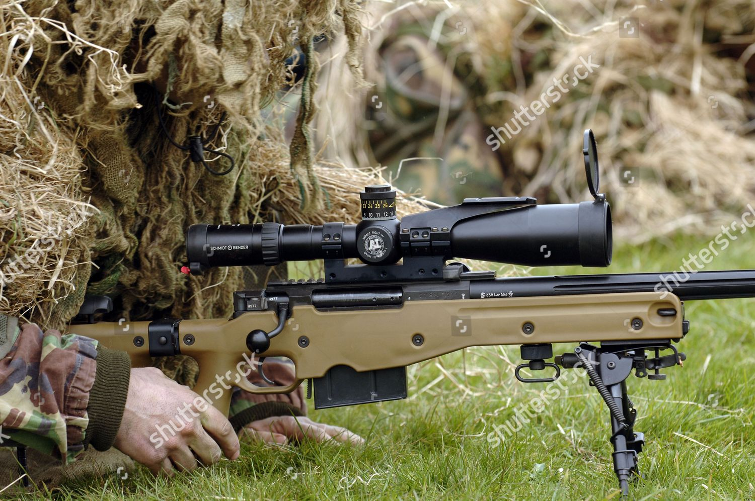 Longrange L115a3 Sniper Rifle Used By British Editorial Stock Photo Stock Image Shutterstock