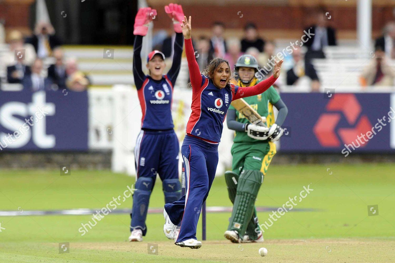 Stock photo of Womens 1-D: England-SA - 08 Aug 2008