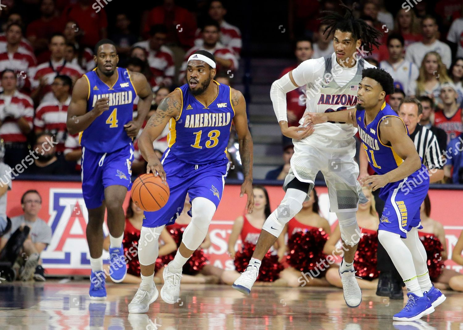 new style 644df 036b4 Cal State Bakersfield guard Shon Briggs 13 Editorial Stock ...