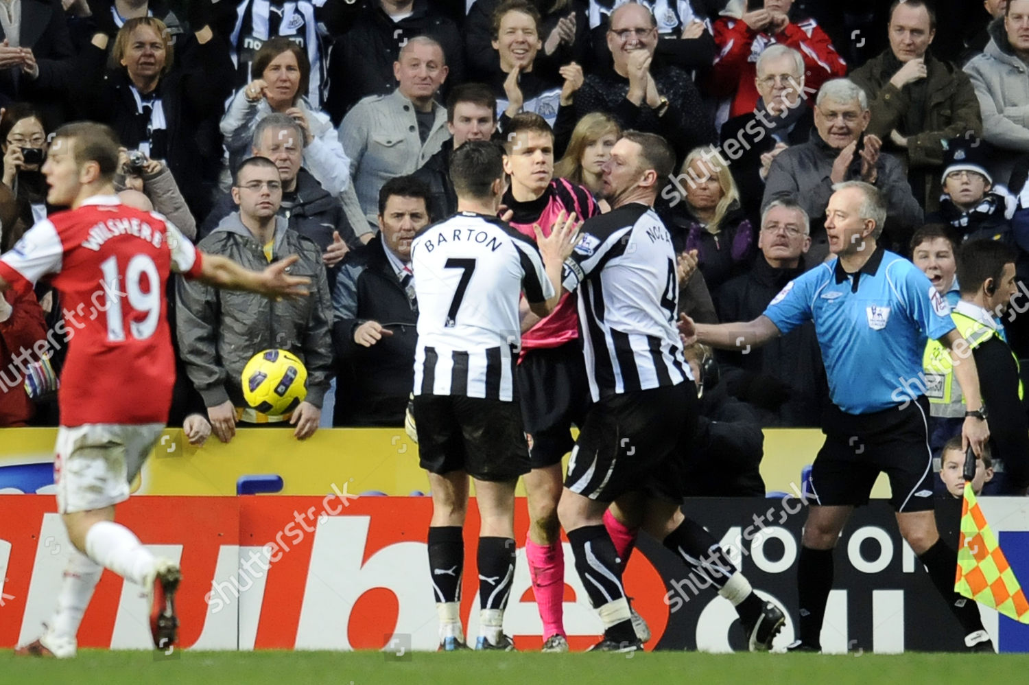 Football Premier League Newcastle United Vs Arsenal Editorial Stock Photo Stock Image Shutterstock