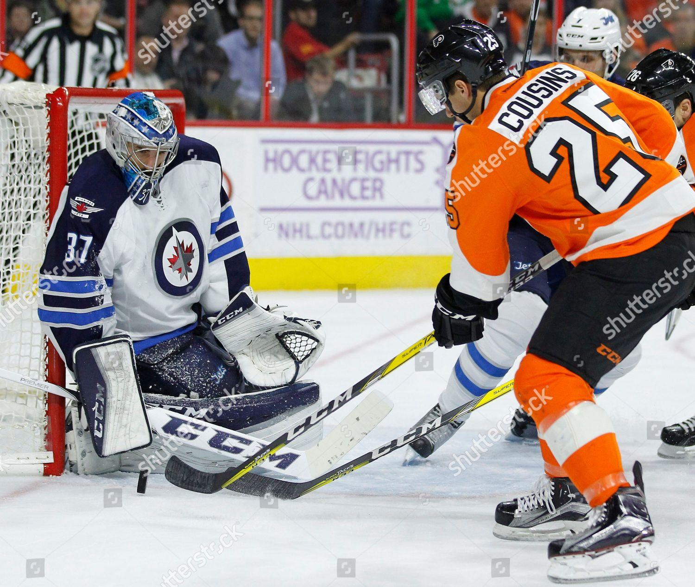 premium selection 48452 a871e Connor Hellebuyck Nick Cousins Winnipeg Jets Connor ...