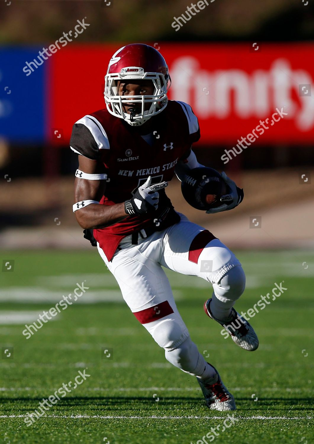 Tyrian Taylor New Mexico State wide receiver Editorial Stock