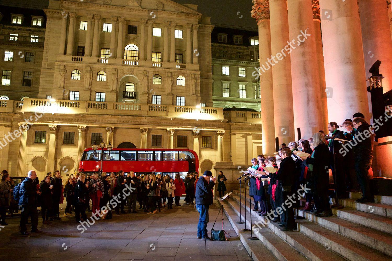 cbb999404 The Royal Exchange and Montblanc Christmas Tree lighting ceremony with  Olympic heptathlete Katarina Johnson Thompson, London, UK Stock Image by ...