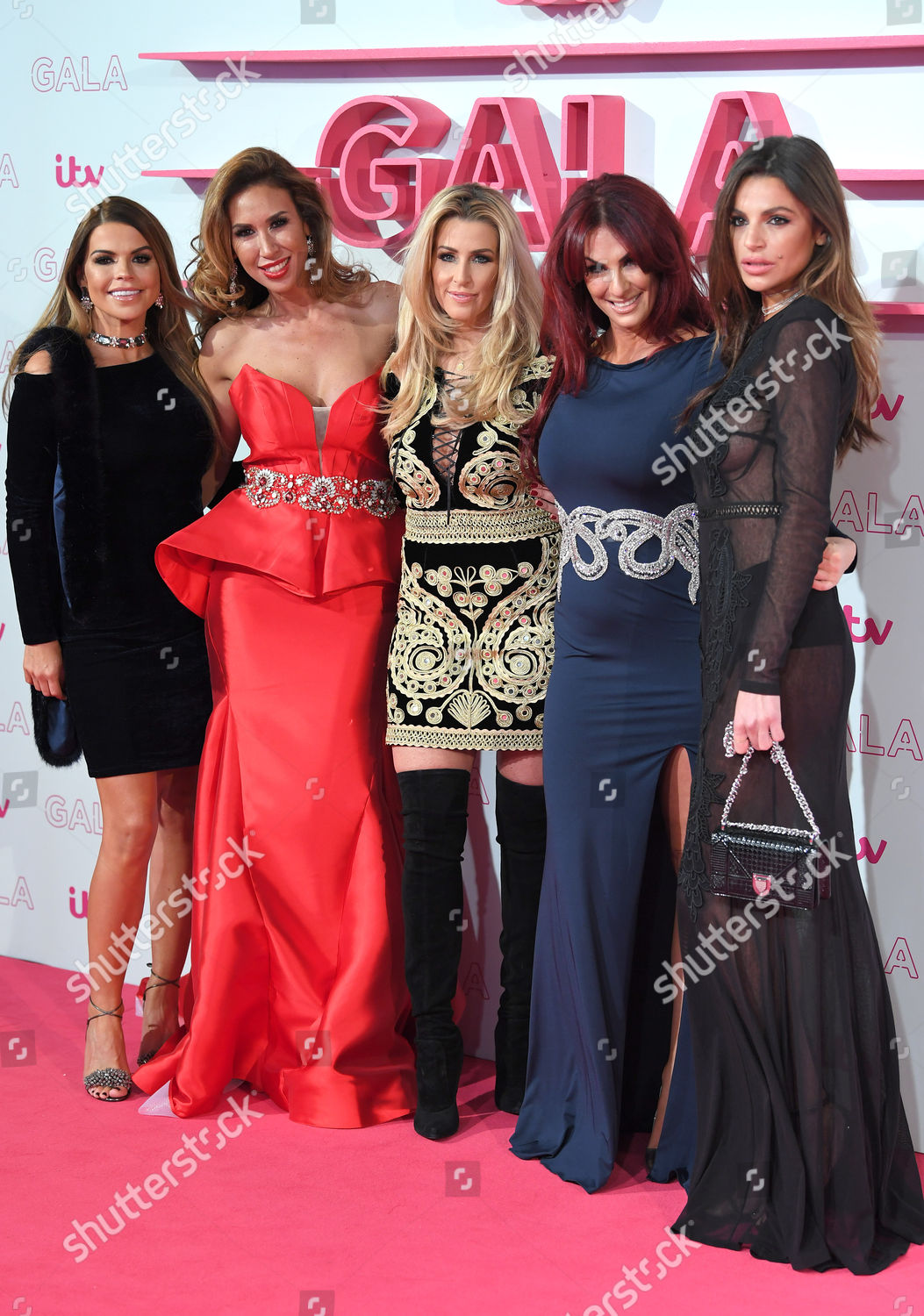 Tanya Bardsley Ampika Pickston Leanne Brown Lauren Editorial Stock