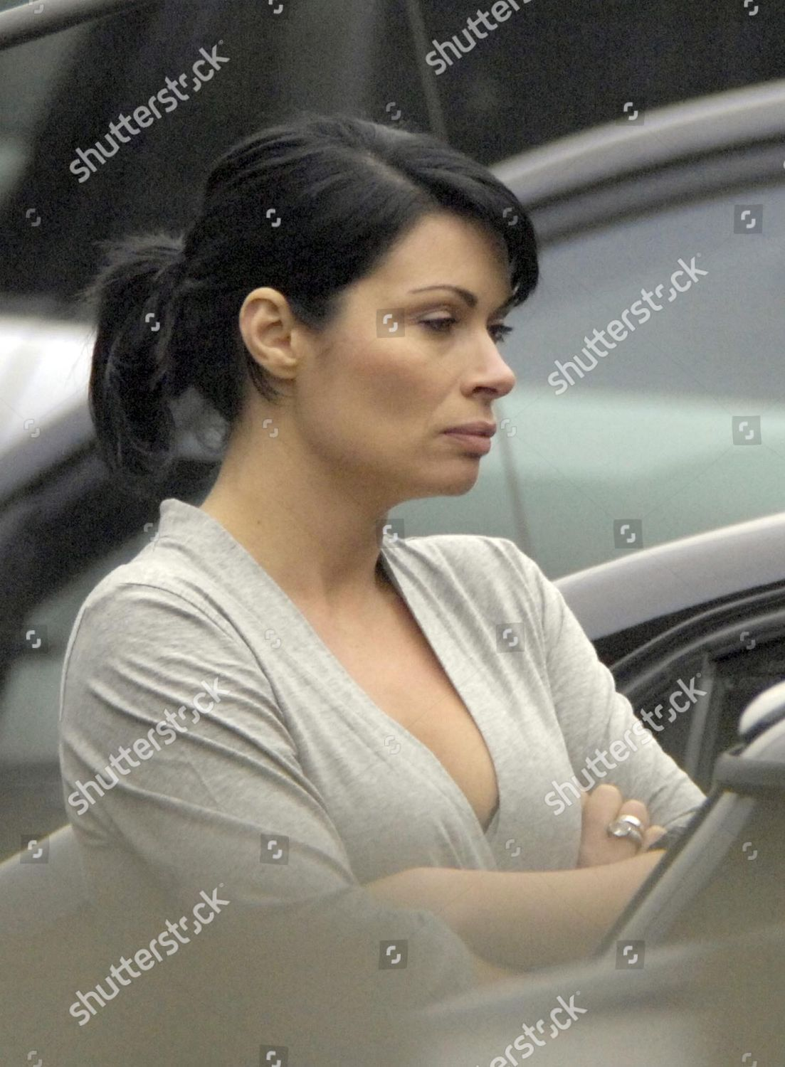 Carla Connor played by Alison King pictured Editorial Stock Photo