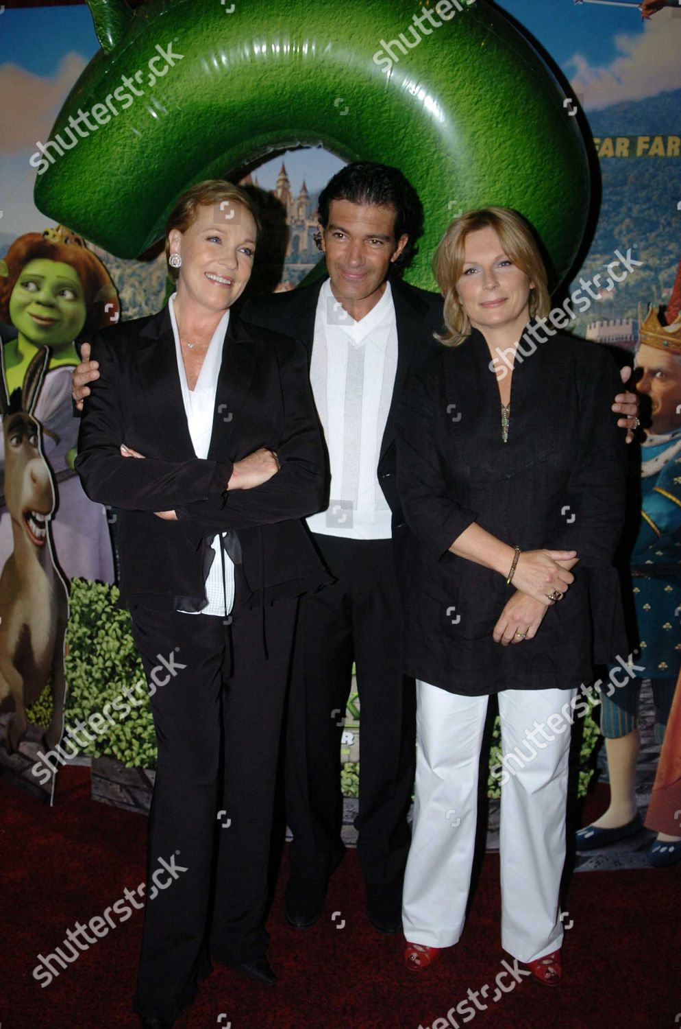 Uk Premiere Shrek 2 Empire Leicester Square Editorial Stock Photo Stock Image Shutterstock