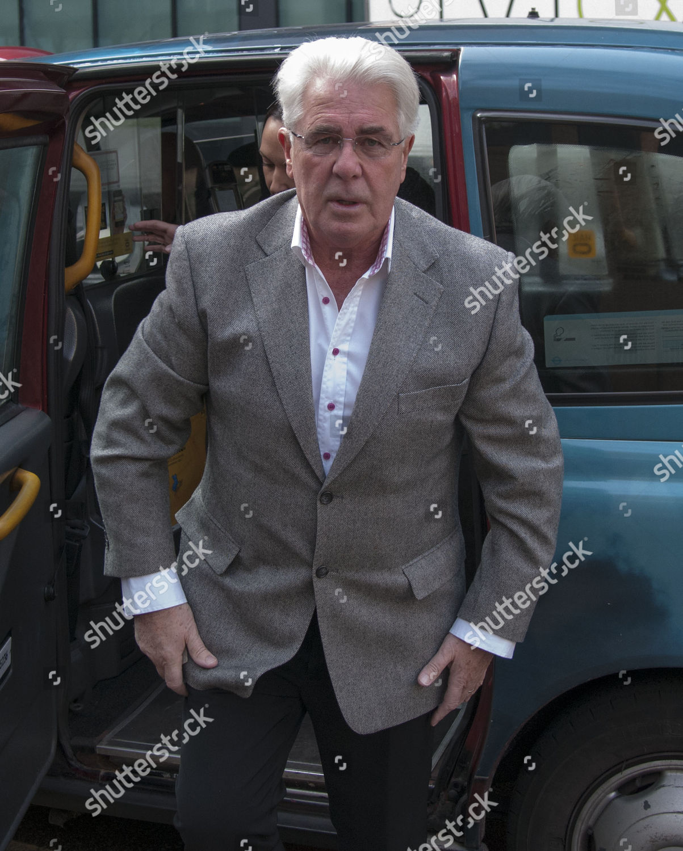 Max Clifford Arrives Southwark...