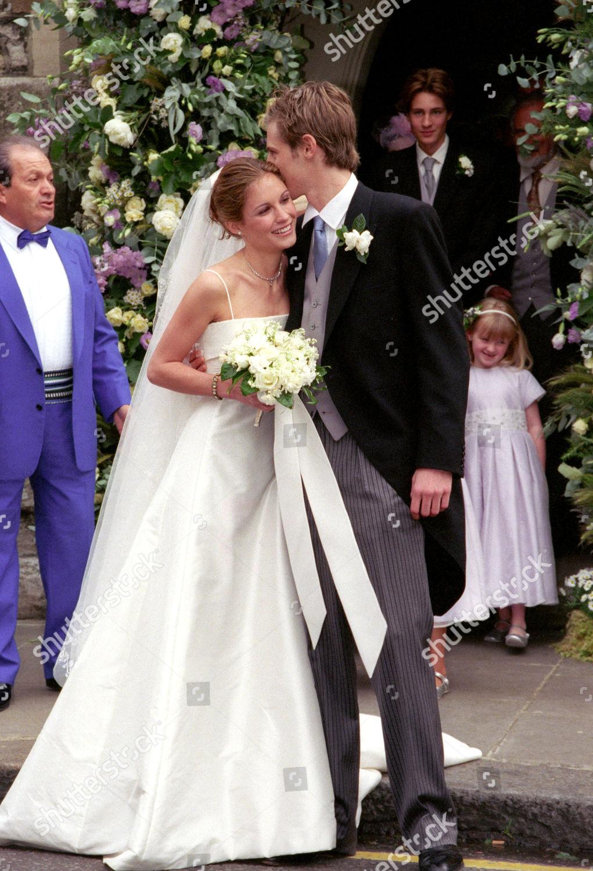 Wedding St Simon Zelotes Church Knightsbridge Bride Editorial Stock