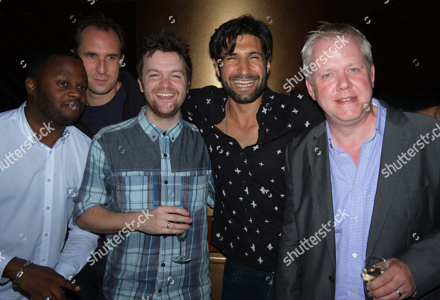 Stock photo of An Incident at the Border Press Night After Party