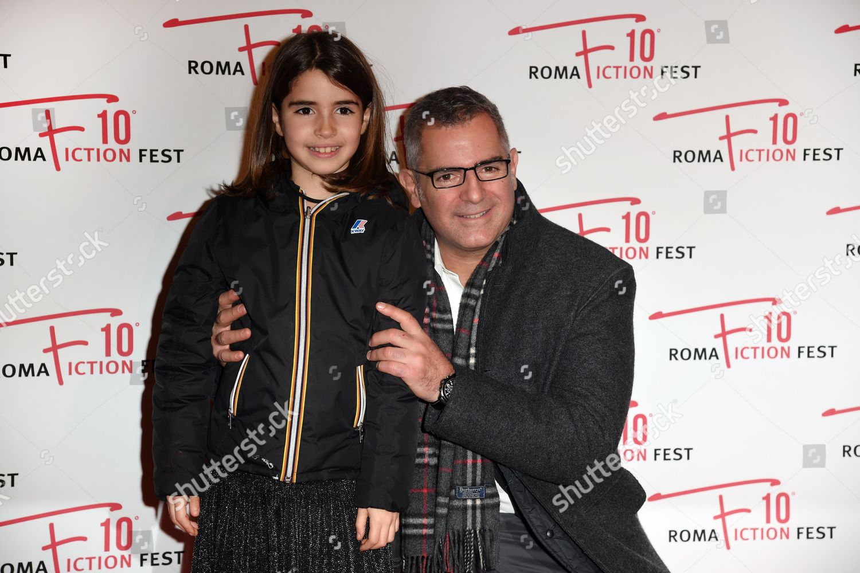 In Arte Nino 2016 director luca manfredi his daughter matilde editorial stock