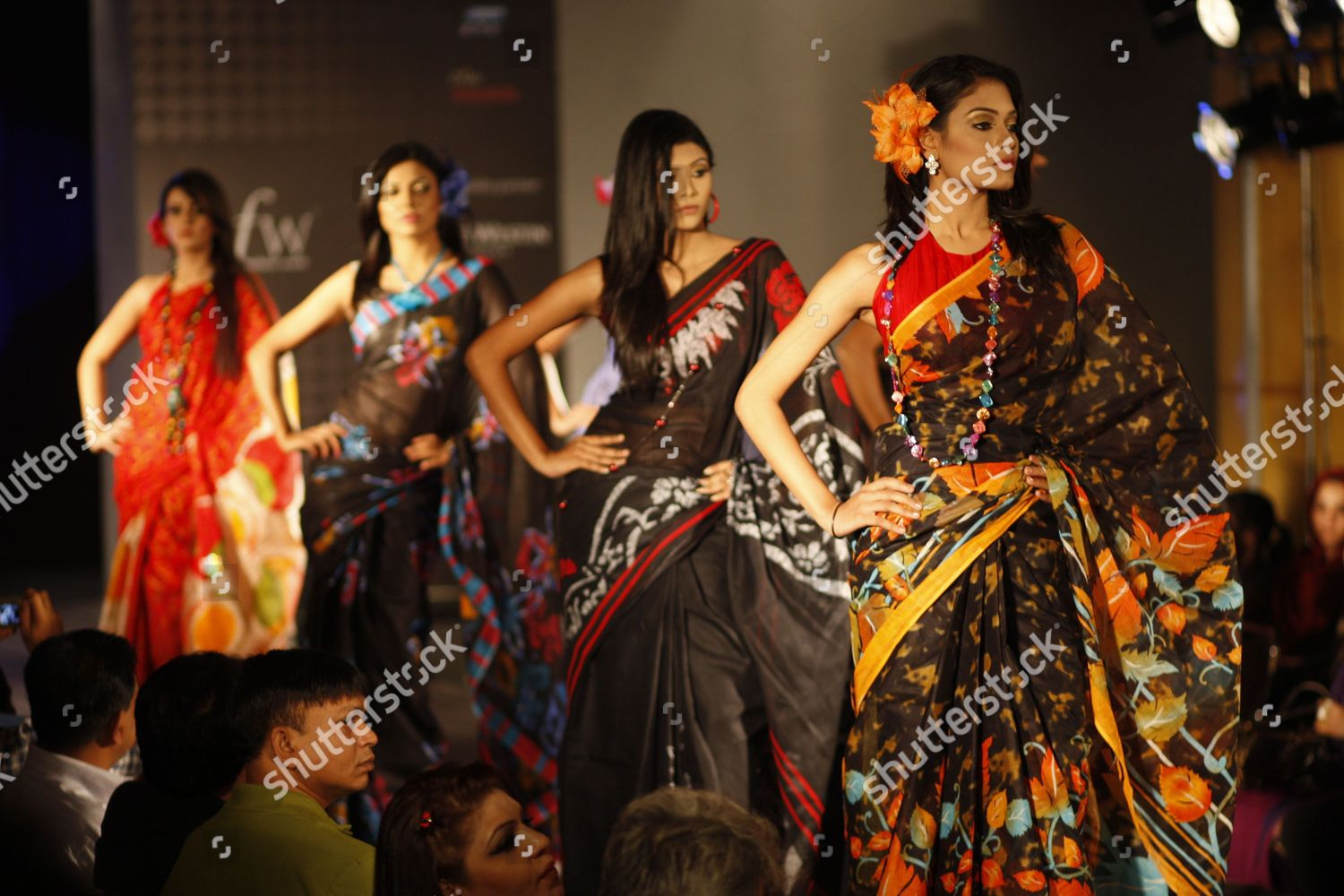 Models Present Creations By Bangladeshi Designer Omrao Editorial Stock Photo Stock Image Shutterstock