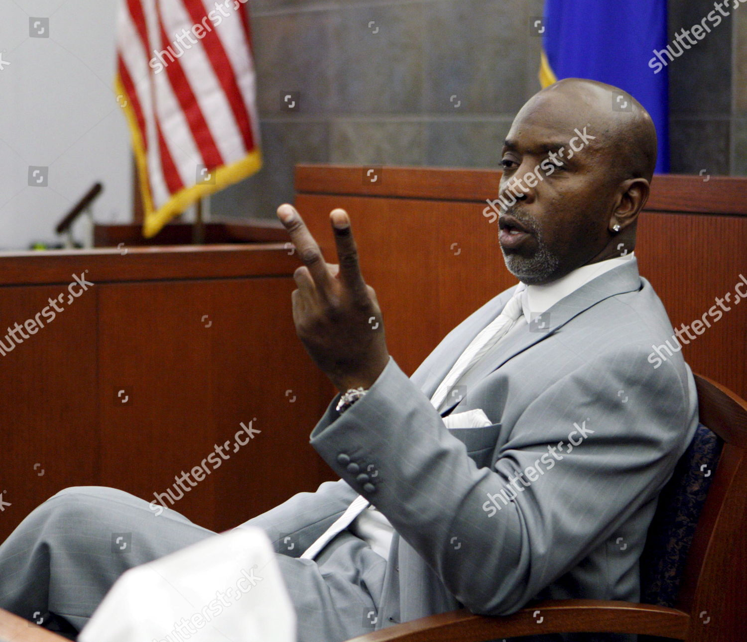 Stock photo of Usa O J Simpson Trial - Nov 2007