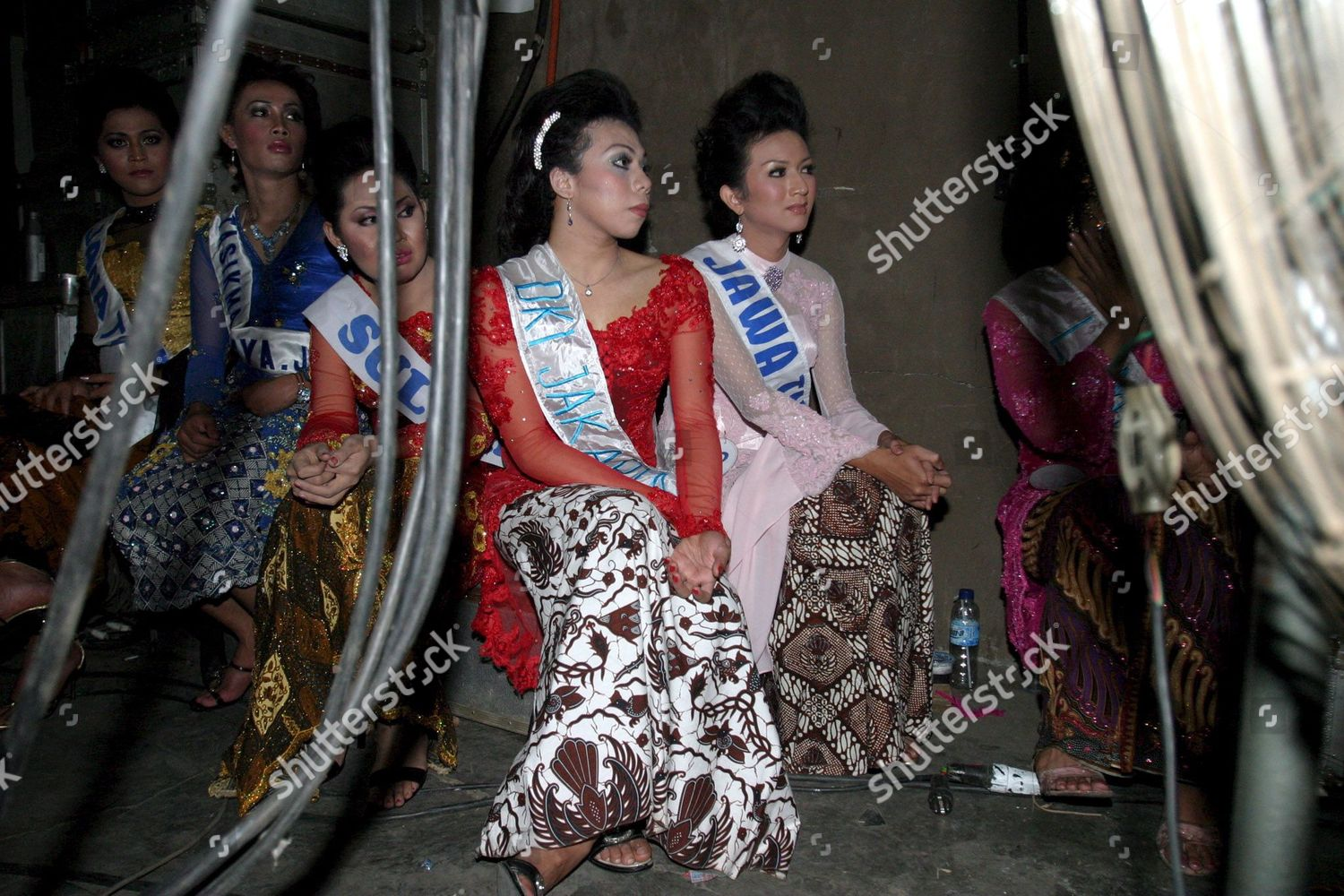 Indonesia Transsexual Beauty Pageant - Jun 2006