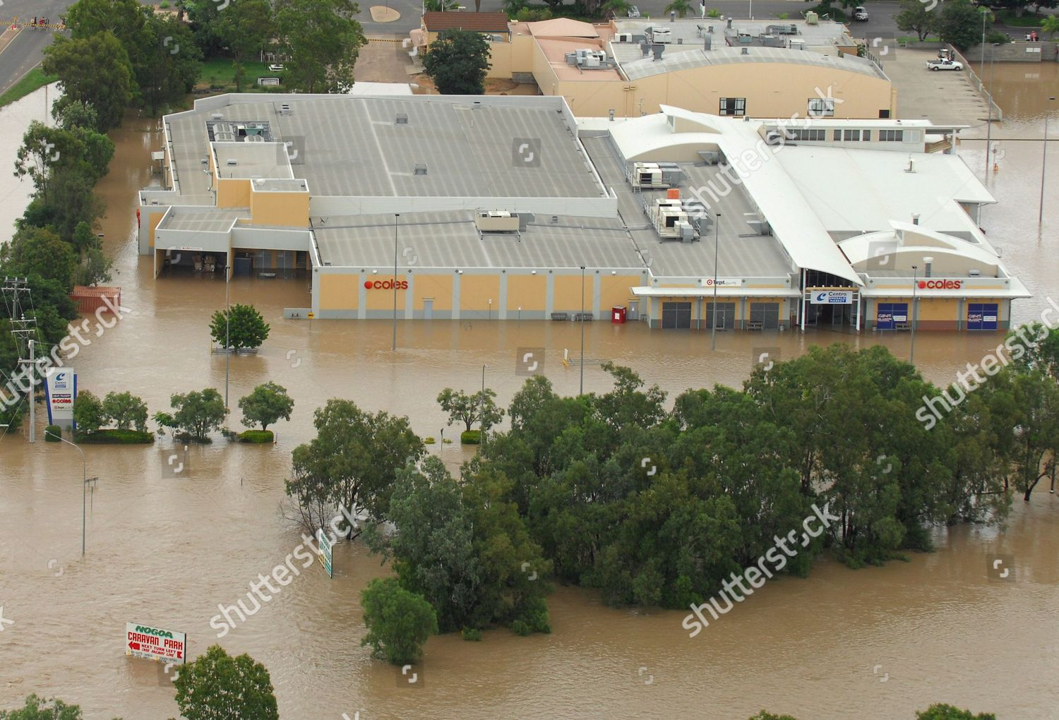 Shopping Centre Central Queensland Town Emerald Sit
