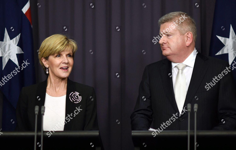 Australian Foreign Minister Julie Bishop l Australian