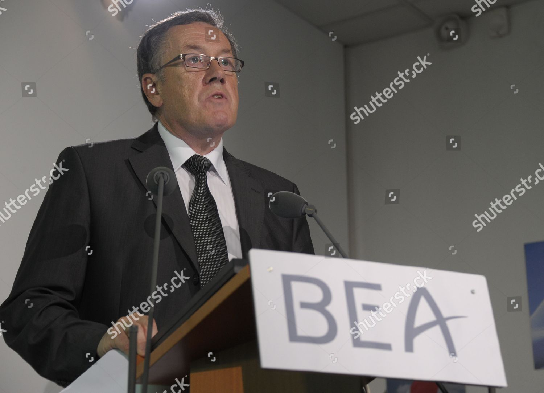Bea Director Enquiry Alain Bouillard Speaks Journalists