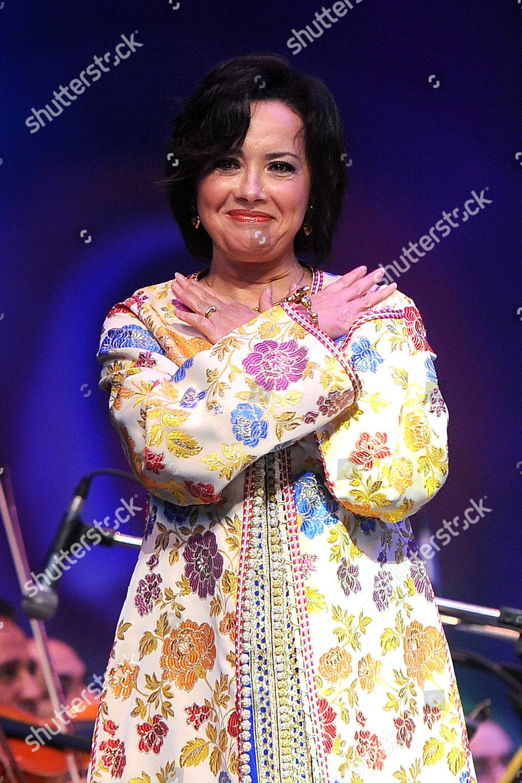 Moroccan Singer Karima Skalli Performs 20th Arab Editorial
