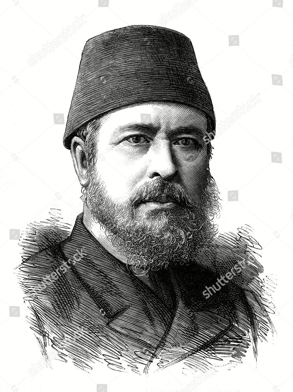 Editorial Stock Photo Of Prince Muhammed Abdal Halim Pasha Egyptian