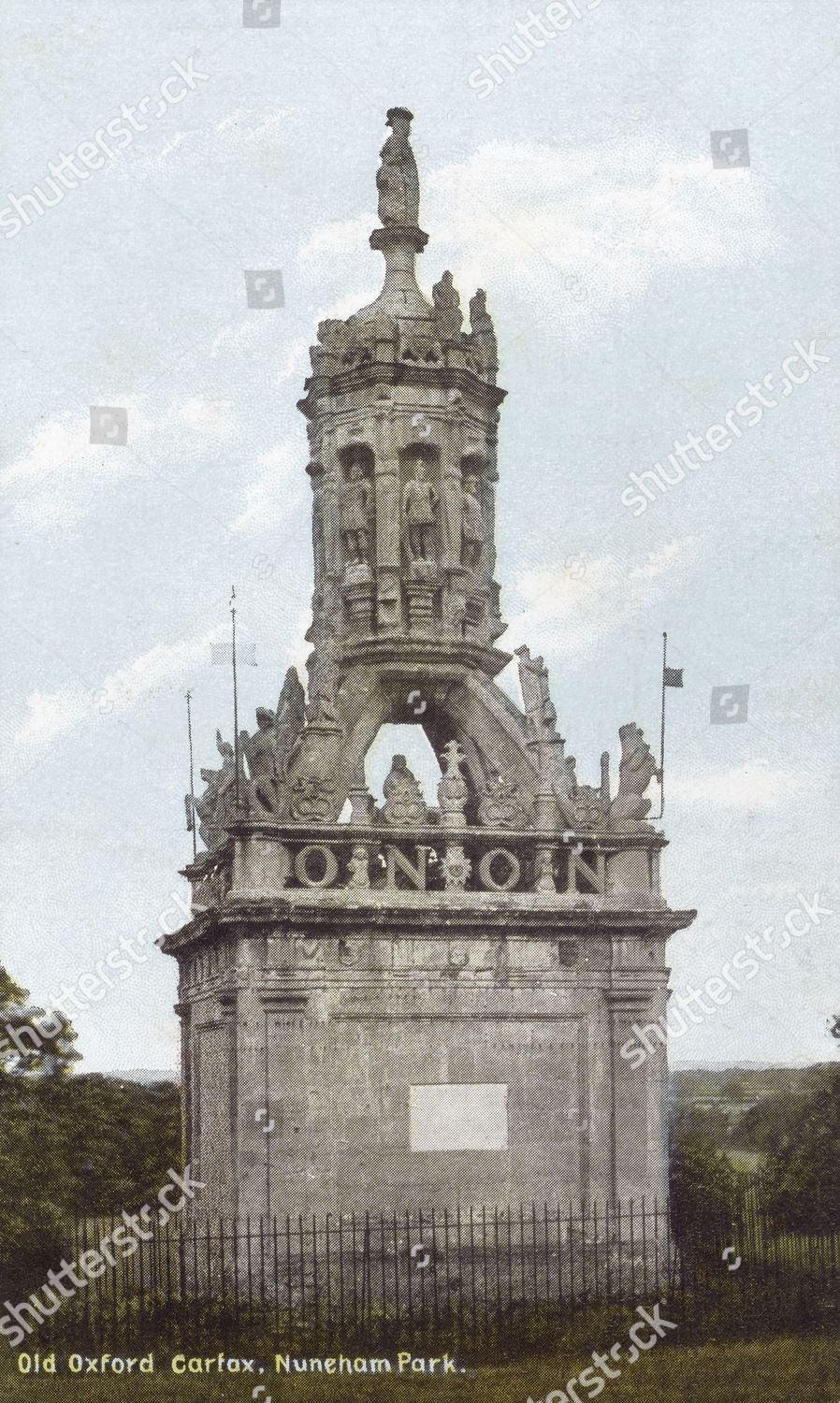 Old Oxford Carfax Nuneham Park Removed Oxford Editorial Stock Photo