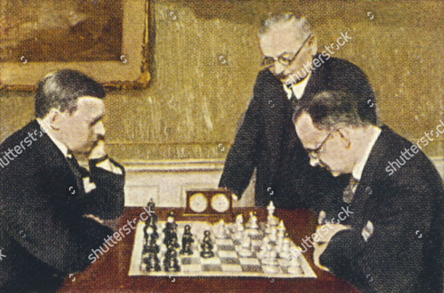 Alexander Alekhine Russian french After 1917 Chess Editorial