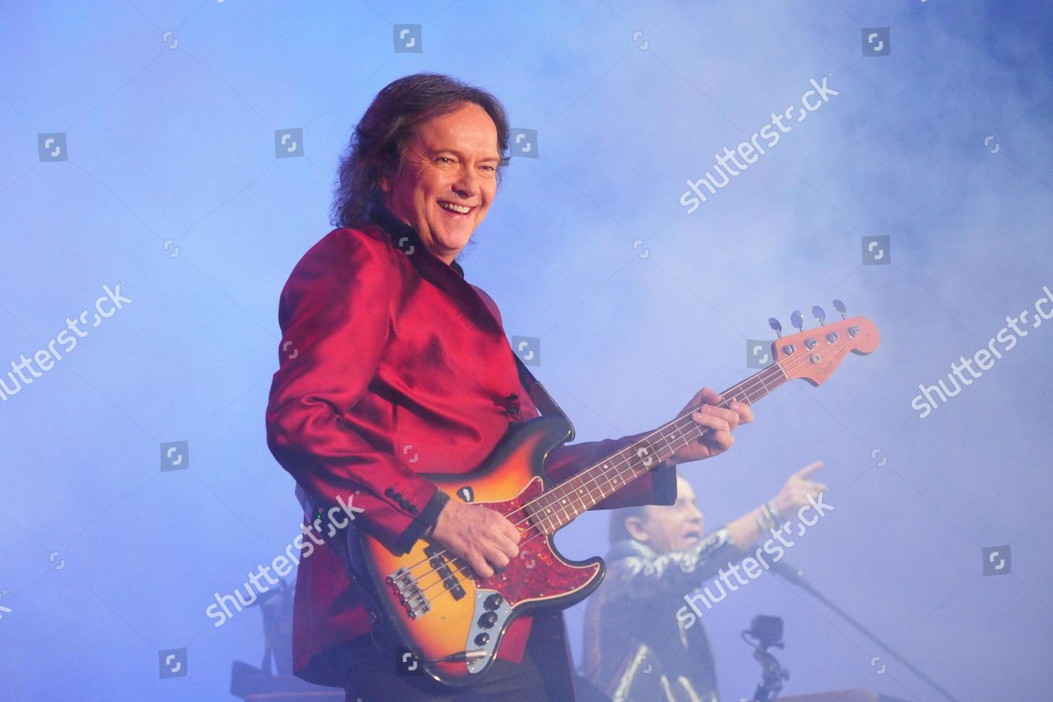 Red Canzian Italian pop band Pooh perform Editorial Stock Photo ...