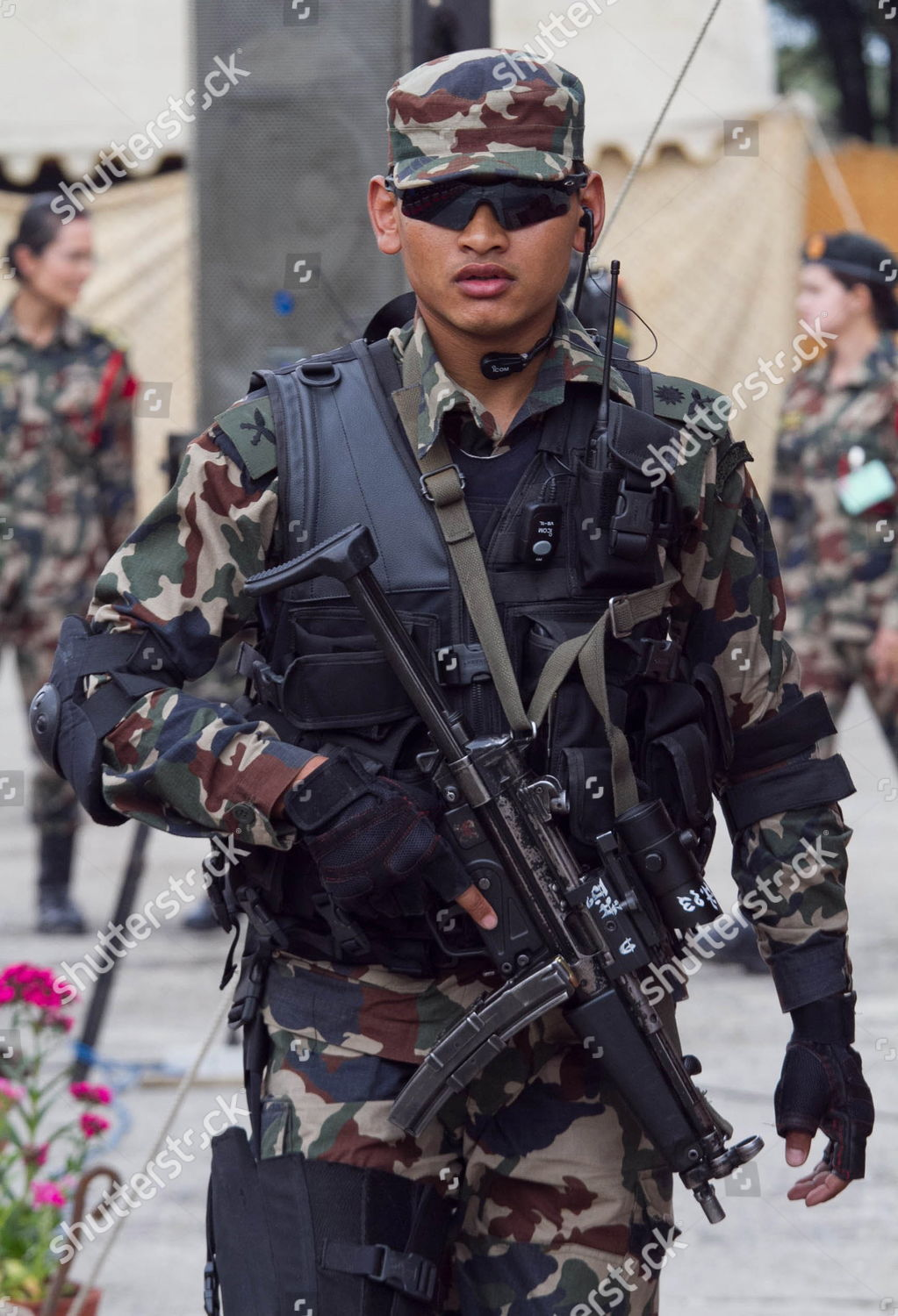 Member Nepalese Army Commando Walks Off After Editorial