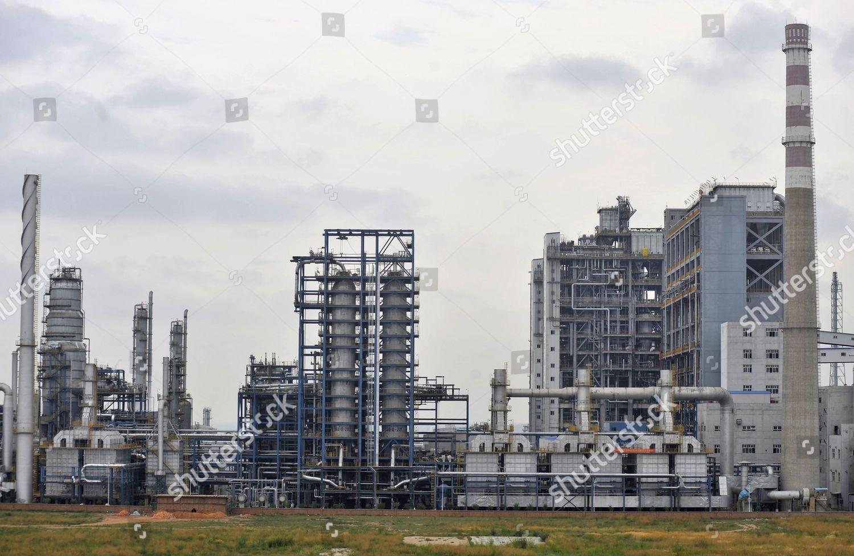 General View Shows Chinas Shenhua Coal Liquefaction Editorial Stock