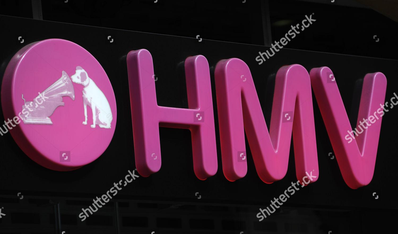 Hmv Logo Pictured Store London Britain 05 Editorial Stock Photo