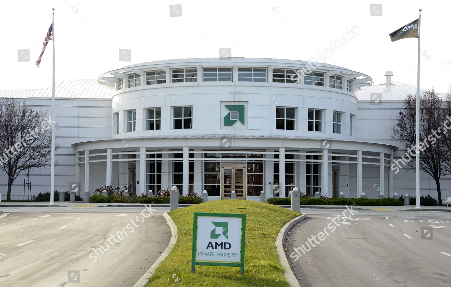 Advanced Microdevices Amd Headquarters Sunnyvale California Usa Editorial Stock Photo Stock Image Shutterstock