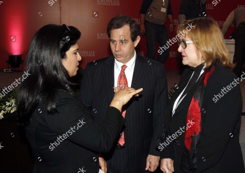 Jordanian Princess Sumaia l Us Ambassador Jordan Editorial