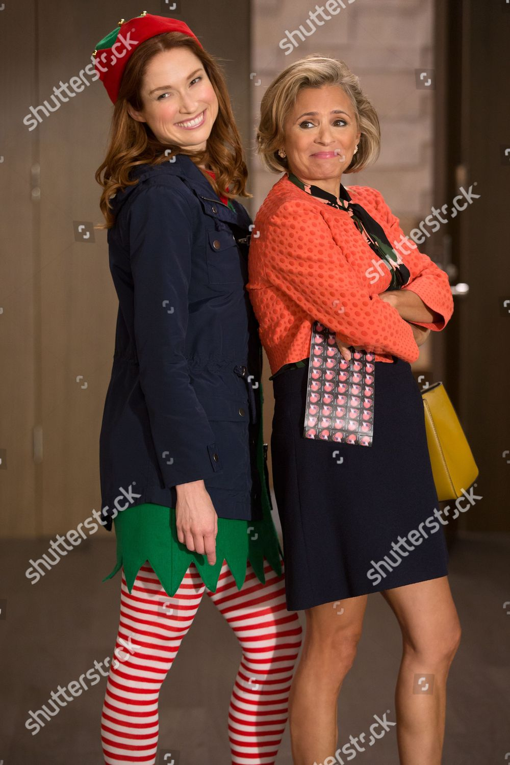 Amy Sedaris Kimmy Schmidt ellie kemper amy sedaris editorial stock photo - stock image
