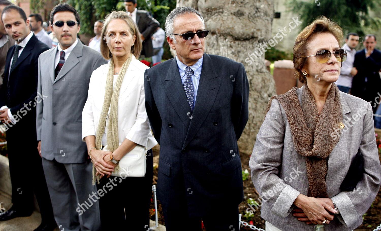 Zeynep Osmanoglu r Wife Ertugrul Osman Osmanoglu Editorial Stock