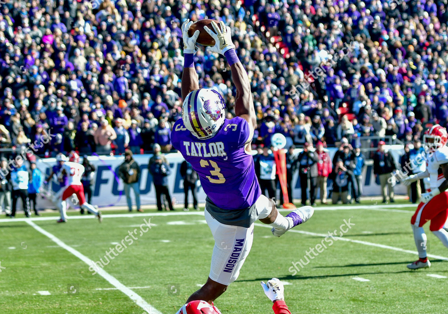 Editorial Stock Photo Of Th 2017james Madison Dukes Wide Receiver