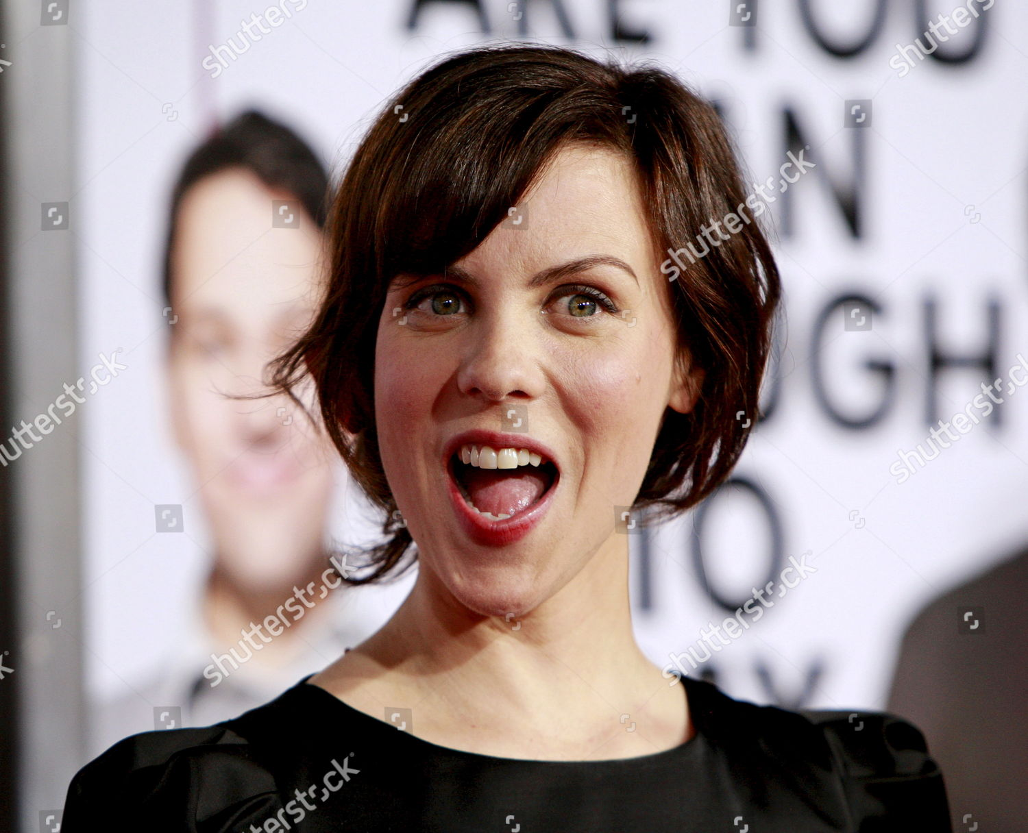 Us Actress Cast Member Sarah Burns Arrives Editorial Stock Photo Stock Image Shutterstock
