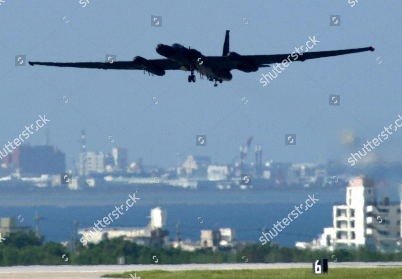 American U2 Reconnaissance Plane Lands Kadena Air Editorial