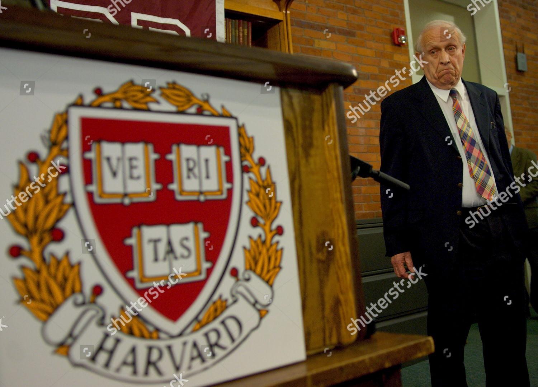 Harvard Physics Professor Roy J Glauber Waits Editorial Stock Photo
