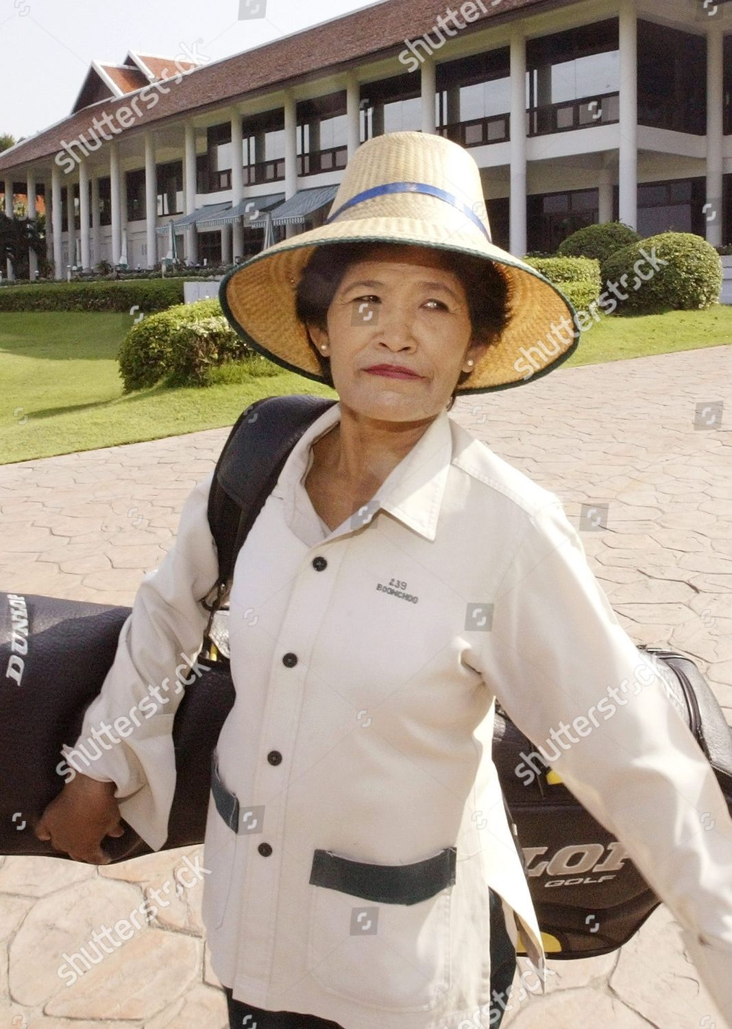 Job Endangered Because Her Age Golf Caddie Editorial Stock Photo