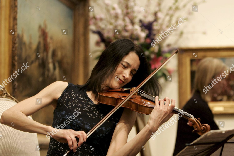Adela Pena Eroica Trio Plays The Lady Editorial Stock Photo