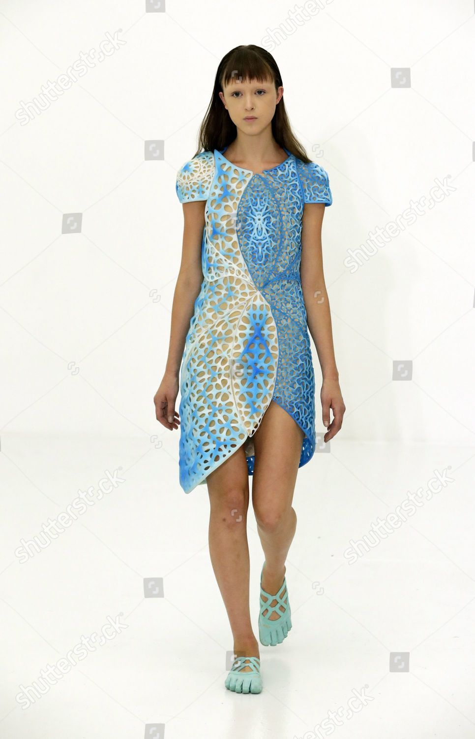 Model Presents Creation By Us Designers Threeasfour Editorial Stock Photo Stock Image Shutterstock